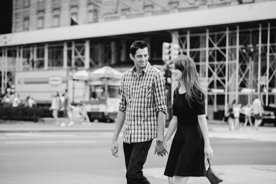 central park engagement photos - new york engagement photographer