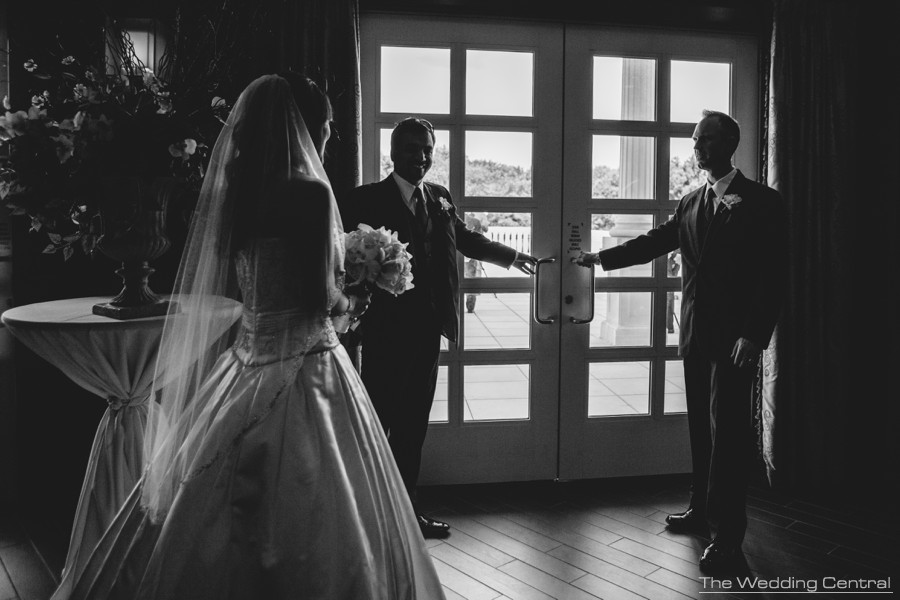 First Look film noir - The Palace at Somerset Park Wedding Photos - Lynne and Adam Wedding Photos