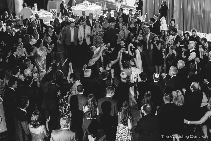 horah dance jewish wedding reception at The Palace at Somerset Park wedding in New Jersey