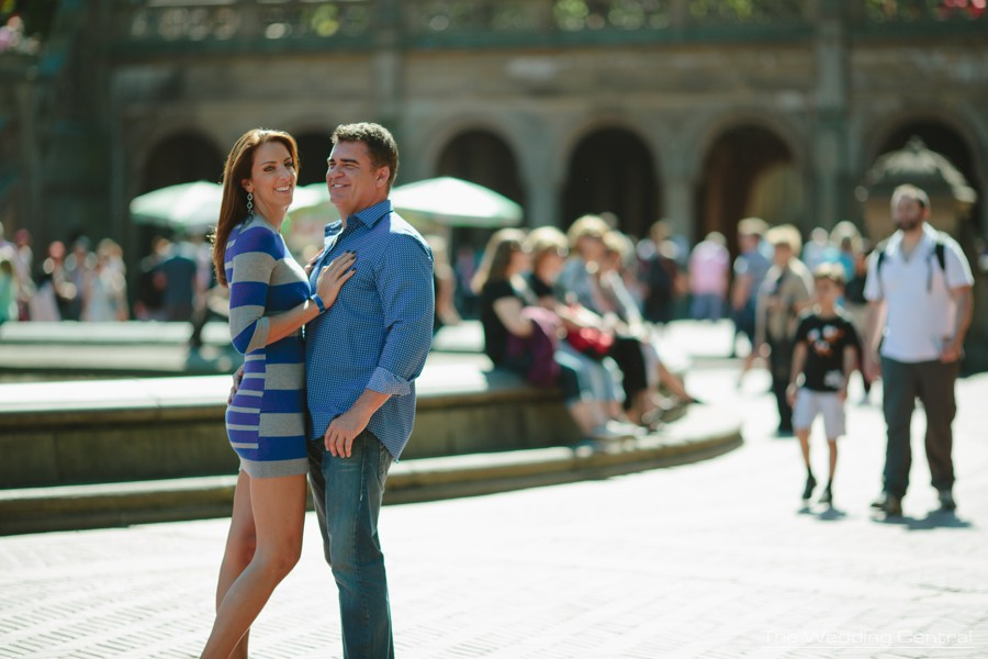 central park engagement photography in New York City by New York engagement photographer