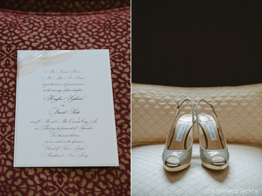 jimmy chop wedding shoes - elegant wedding - Fiddlers elbow wedding photos in Bedminster NJ