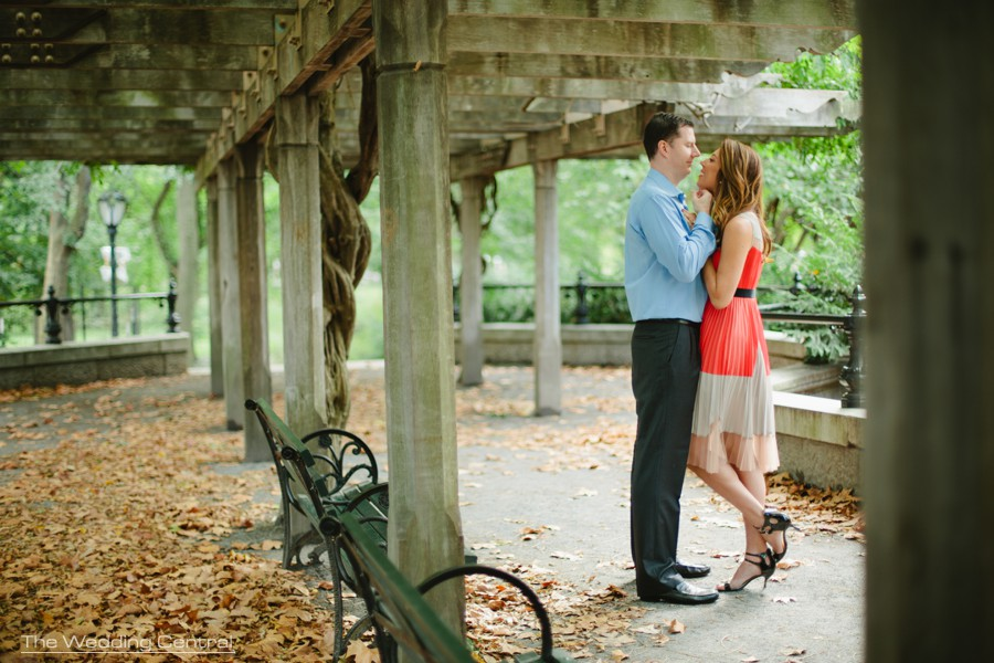 New York Engagement Photography - Central Park engagement photos
