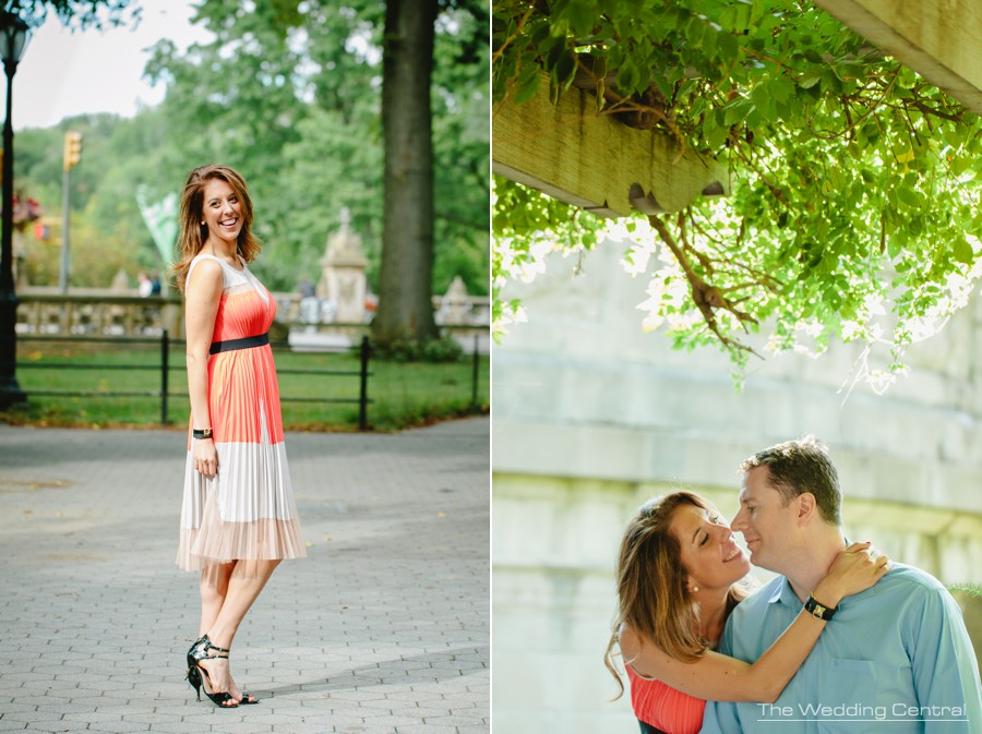 New York City Engagement Photography - Central Park engagement photos