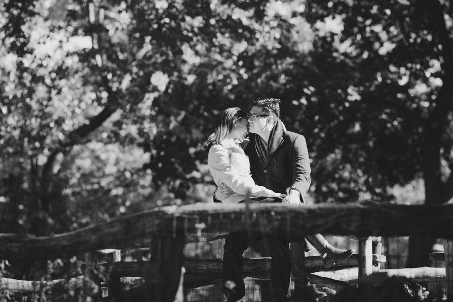 Romantic New York Engagement Photos - Candid engagement photos new york city
