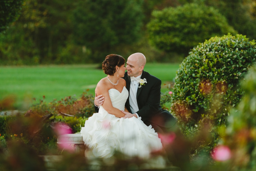 The Palace at Somerset Park romantic bridal portraits - New Jersey wedding photographer