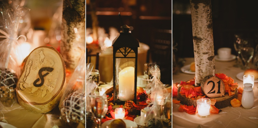 Rustic PA wedding pictures - Fall wedding details