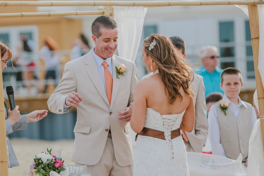 Jersey Shore Beach wedding at Asbury Park