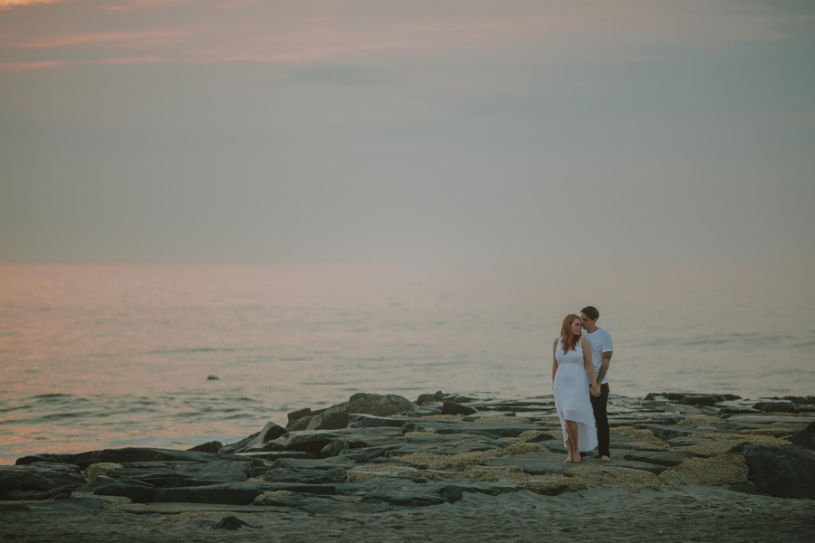 Jersey Shore wedding photographers - Asbury Park Engagement Photos