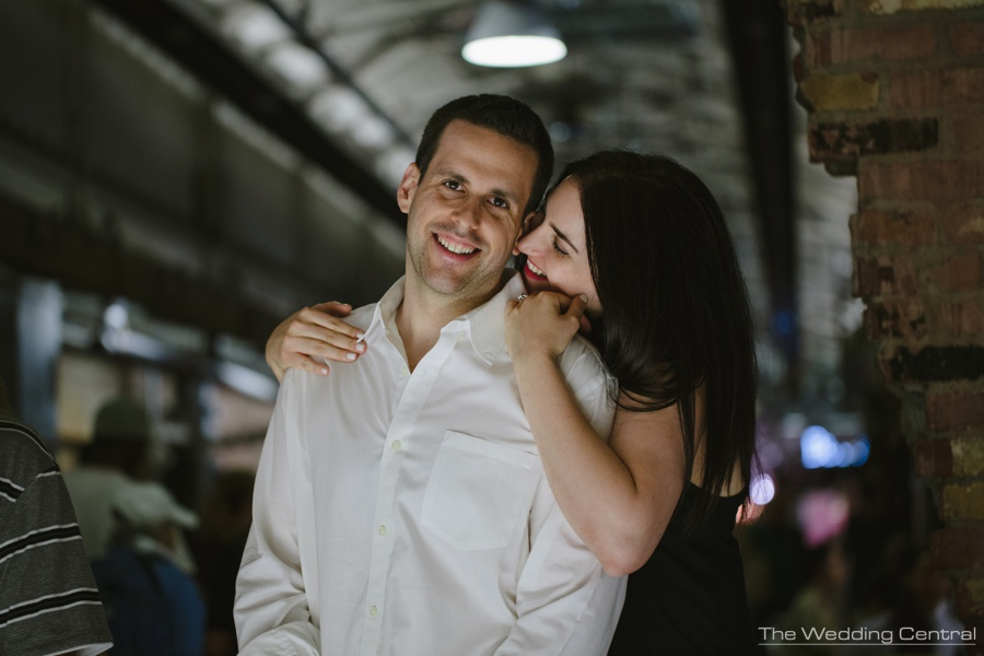 Chelsea Market engagement photos