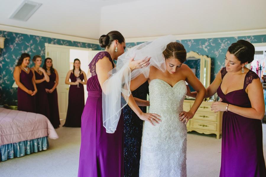Documentary wedding photography in New York