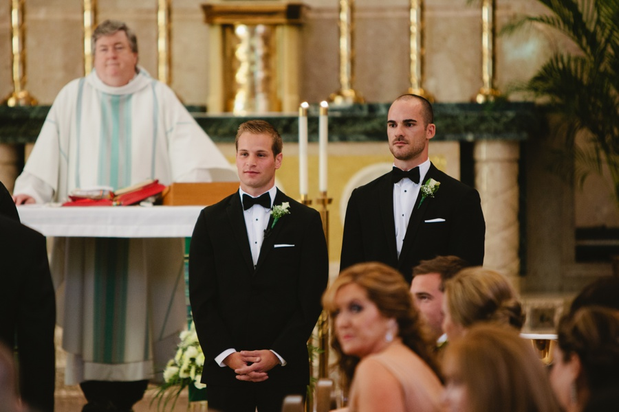 Wedding Photos at St Patrick Church in Huntington Long Island
