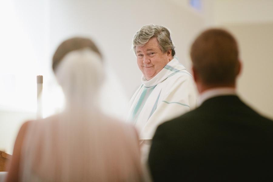 Wedding Photos at St Patrick Church in Huntington Long Island
