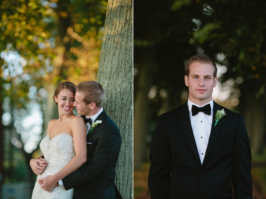 Elegant groom portrait - Bourne Mansion Wedding Photos - New York Wedding Photographer