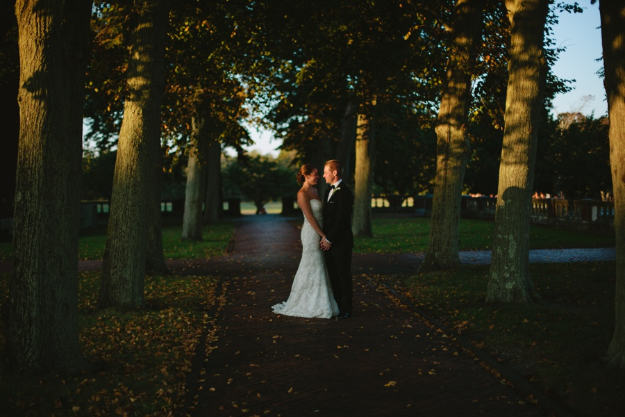 Fall Wedding Photos - Bourne Mansion Wedding Photos - Long Island Wedding Photographers