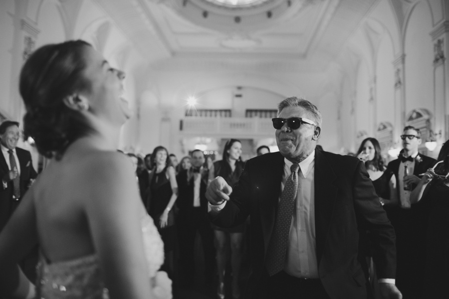 fun wedding reception pictures - Bourne Mansion wedding photos - New York Wedding Photography