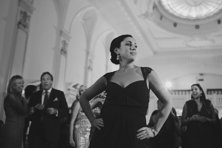 fun wedding reception - Bourne Mansion Wedding Photos - New York Wedding Photography