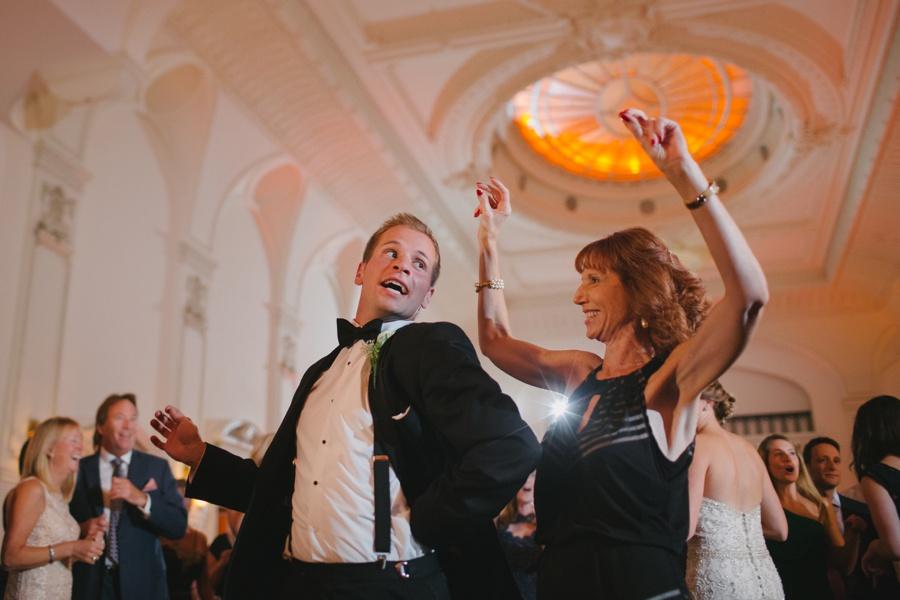 fun wedding reception - Bourne Mansion Wedding Photos - New York Wedding Photography