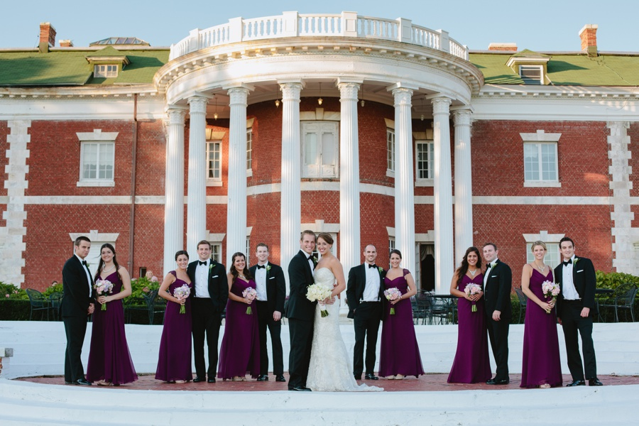 Bourne Mansion Wedding Photos