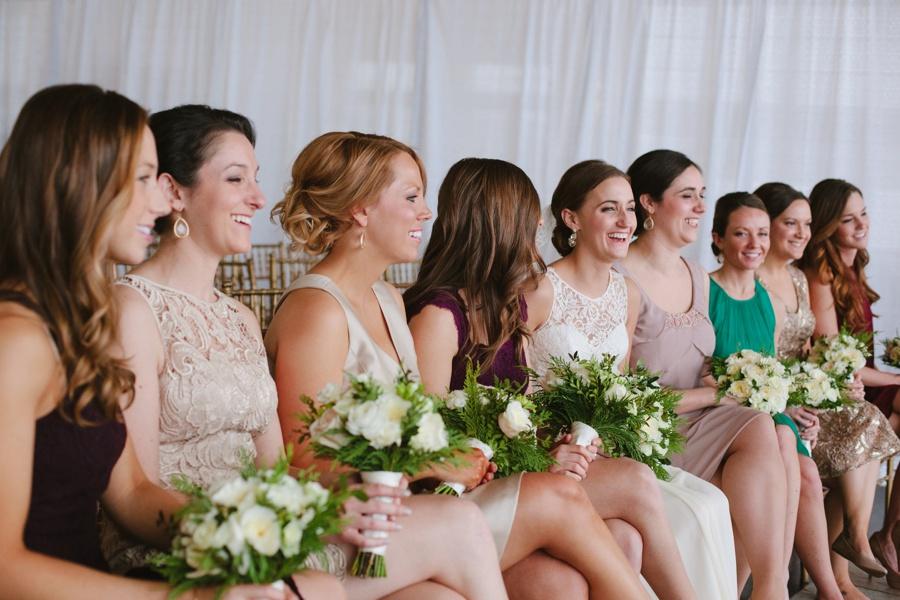 Bridesmaids - Liberty House Wedding Photography - New Jersey wedding photographers