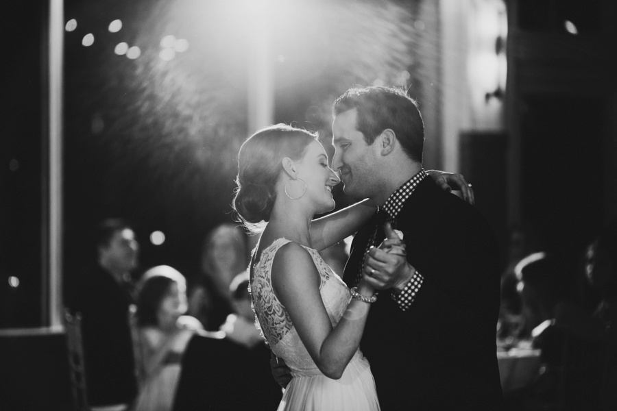 Bride and Groom First dance - Liberty House Wedding Photography