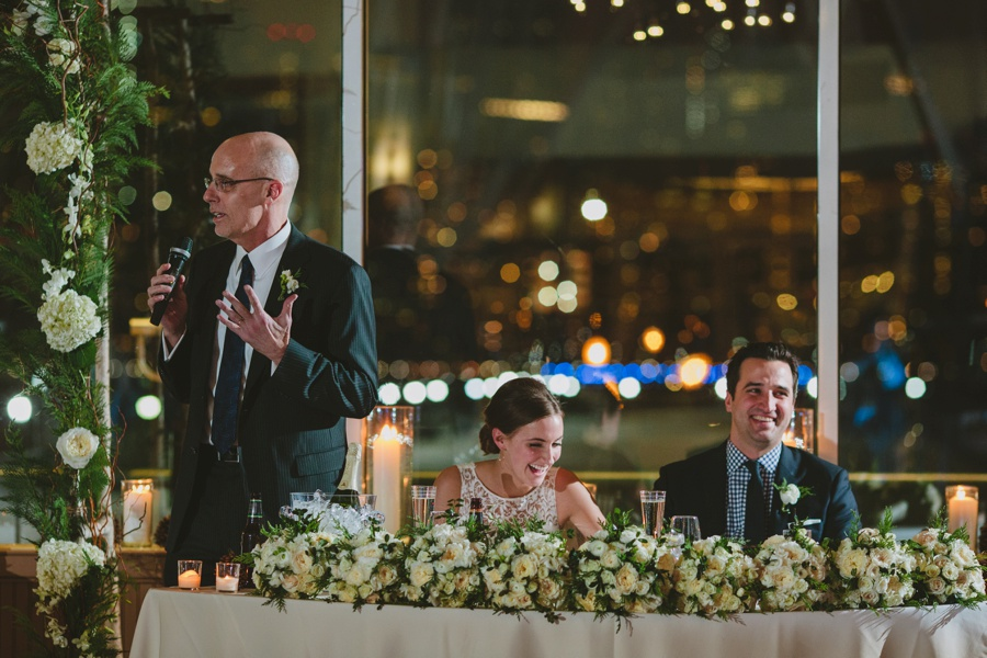 Toast during reception - Liberty House Wedding Photography