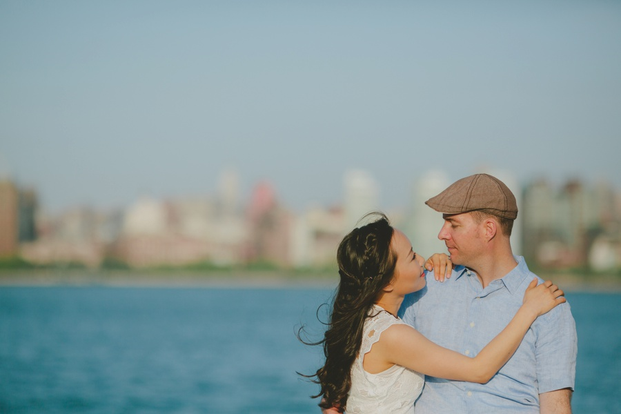 Hoboken engagement photos - New Jersey engagement photographer