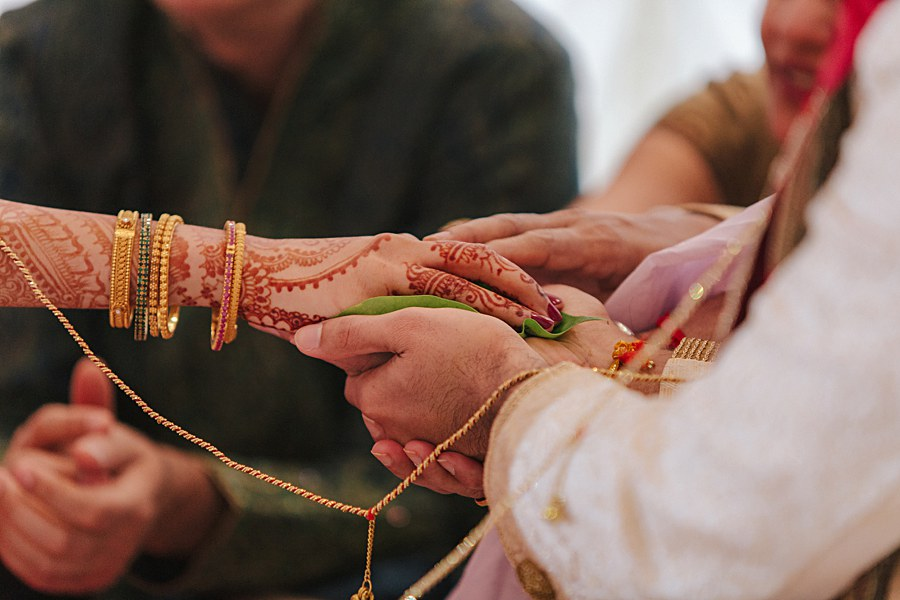 Religious Indian Wedding Ceremony