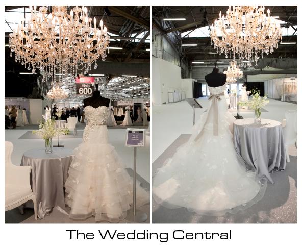 Anne Barge Wedding dress -New York International Bridal Market