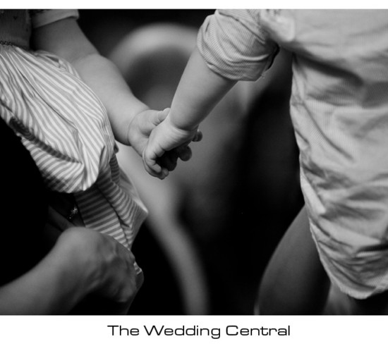 Young love - Baby holding hands - New York City Wedding Photography