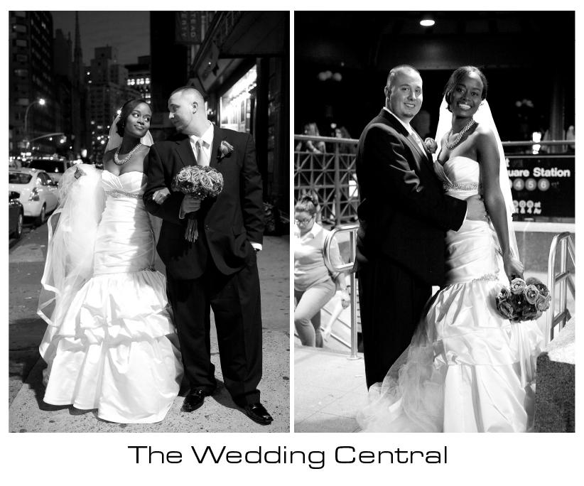 NYC Wedding - Martine and Nicola NYC wedding Photos