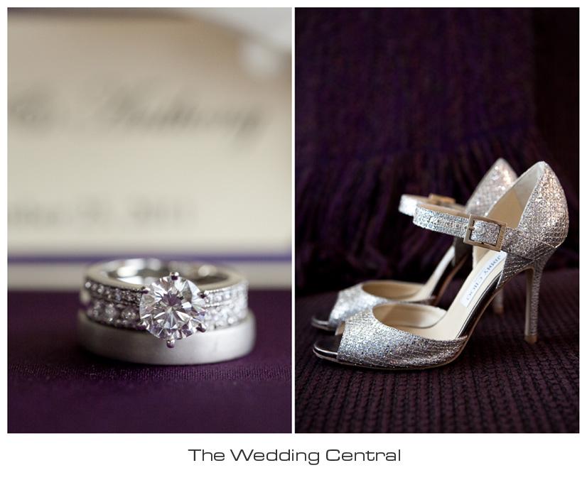 Jimmy Choo wedding shoes photo