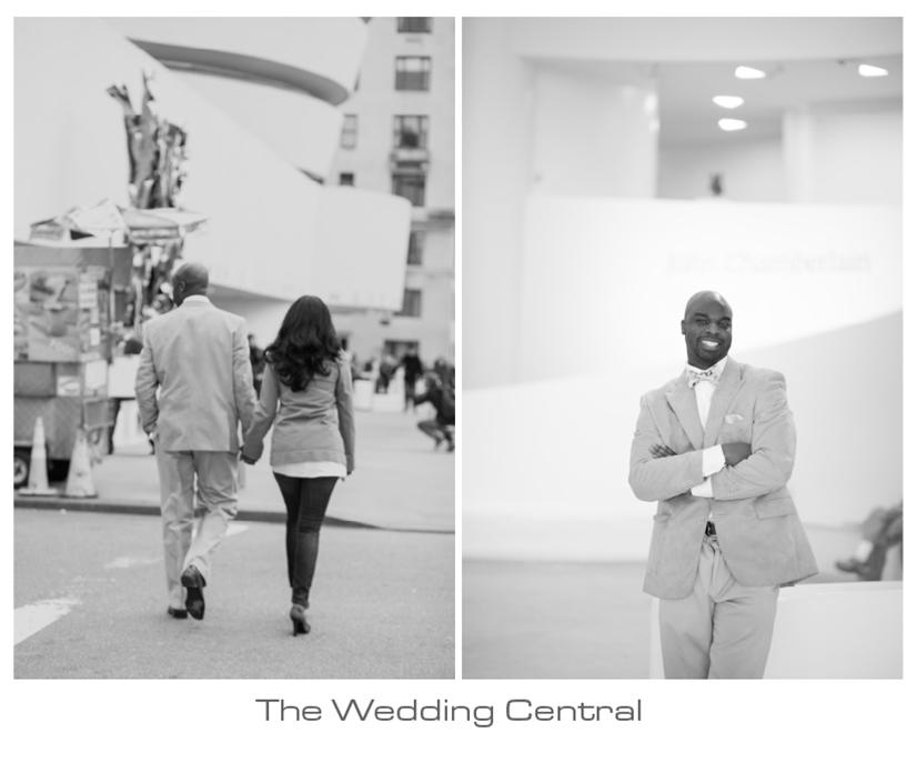 Central Park Engagement - Twyla Calving Engagement Photos