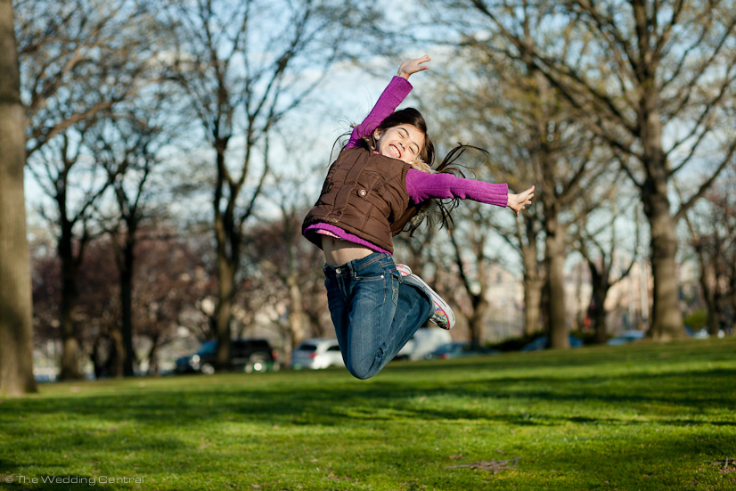 Girl Jumping - New Jersey Child Photography
