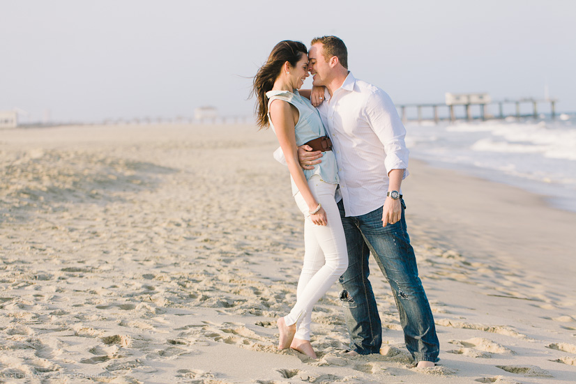 belmar engagement photographer - john and diana belmar beach engagement photos
