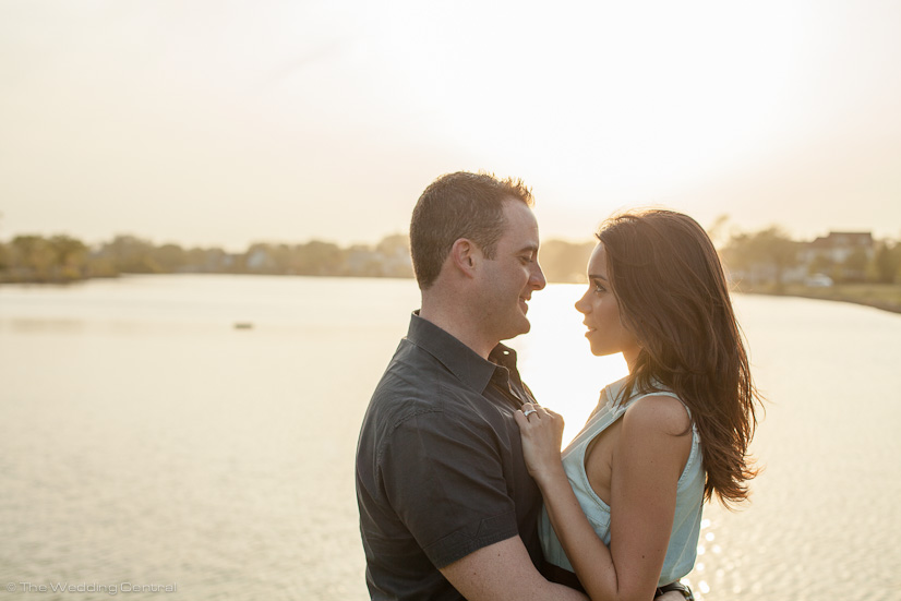 belmar engagement photographer - john and diana belmar engagement photos sunset