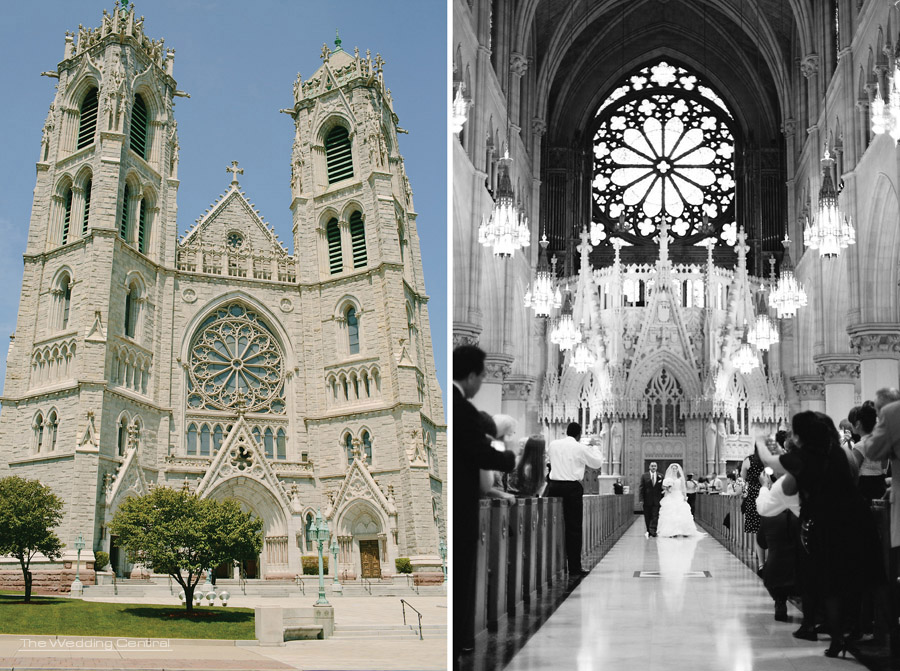 New Jersey Wedding Photographer - Newark Cathedral Wedding Photos