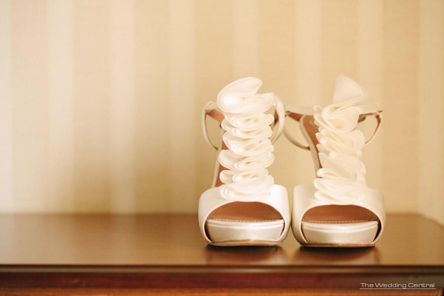 Nicole Evell NJ Wedding - wedding shoes - new jersey wedding photographer