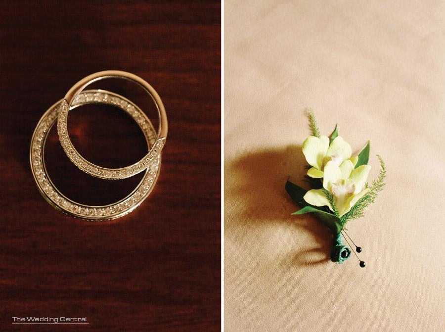 Nicole and Evell - wedding rings - Ridgefield Regency Wedding