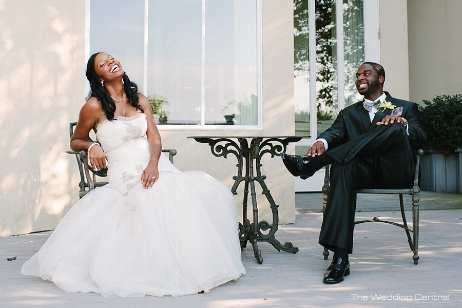 Bride Groom laughing- New Jersey wedding photographer