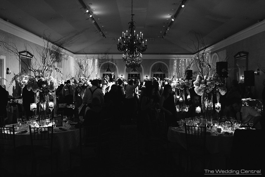 Reception Time - New York Botanical Gardens wedding ballroom
