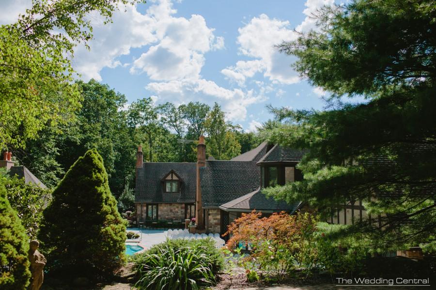 pennsylvania private residence wedding photos - pa wedding photography