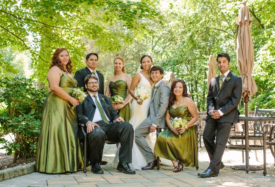 casual bridal portrait wedding photos - pa wedding photography