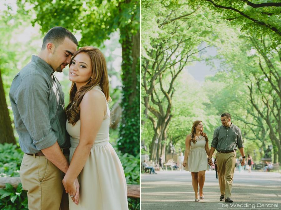 NYC engagement photographer - NYC wedding photographer