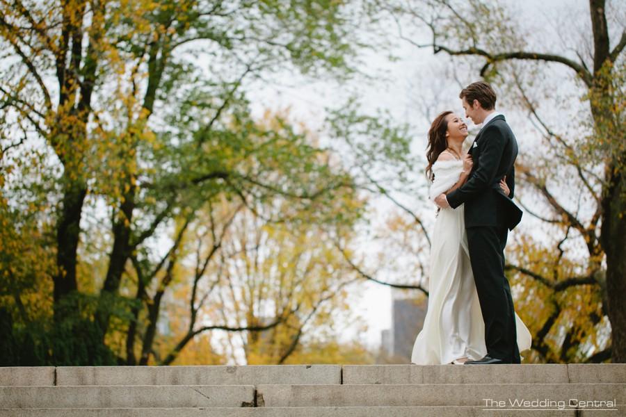 central park engagement photos - nyc bridal portaits photographer