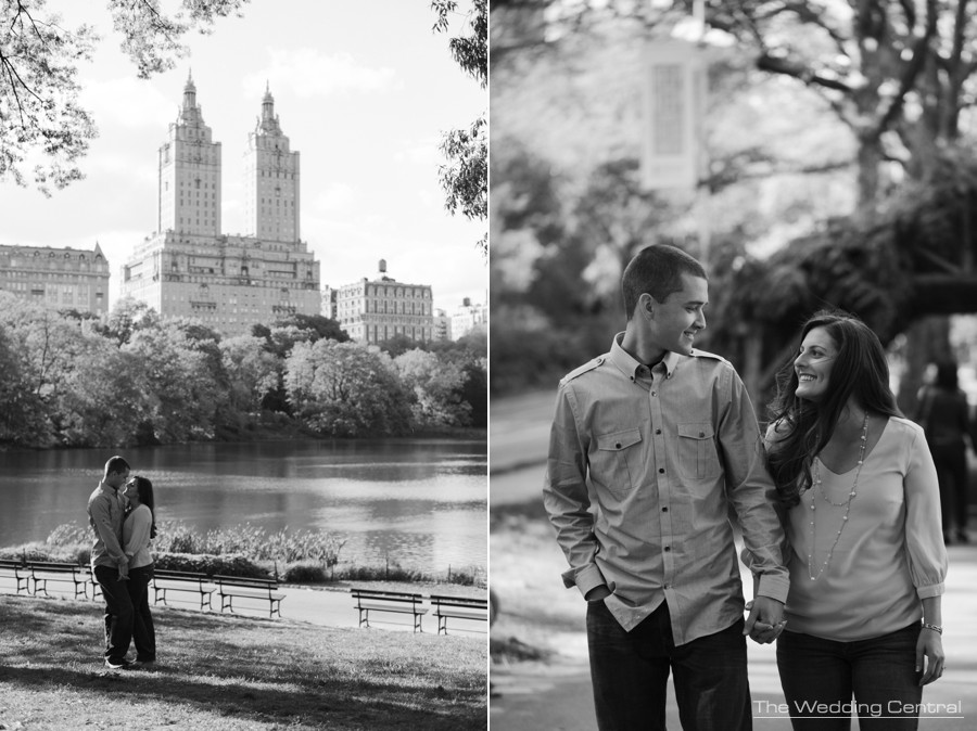 nyc engagement photos - nyc wedding photographer