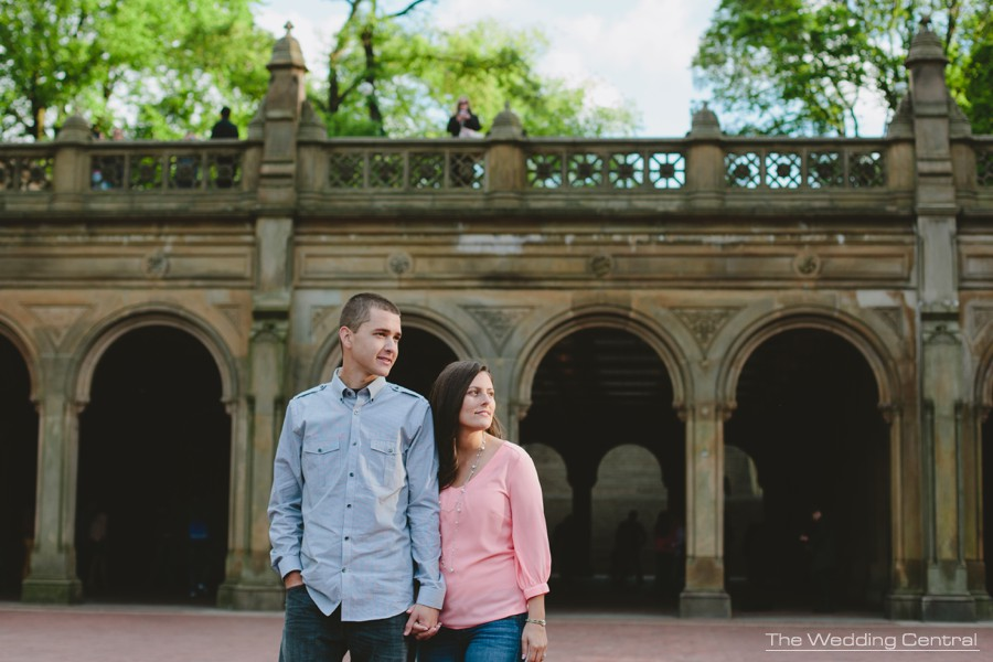 candid central park engagement photos - nyc wedding photographer