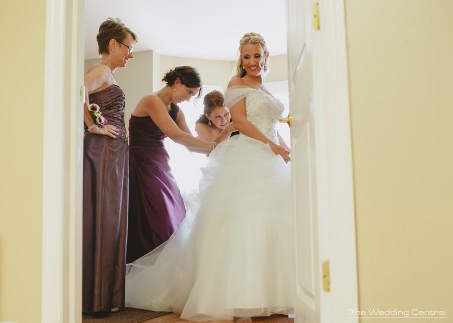 waterside wedding photos - edgewater wedding photographer - nj wedding photographer