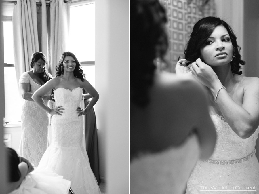 new jersey wedding photography - bride getting ready