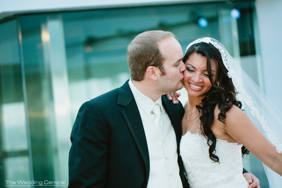 liberty science center wedding photos - nj wedding photographer