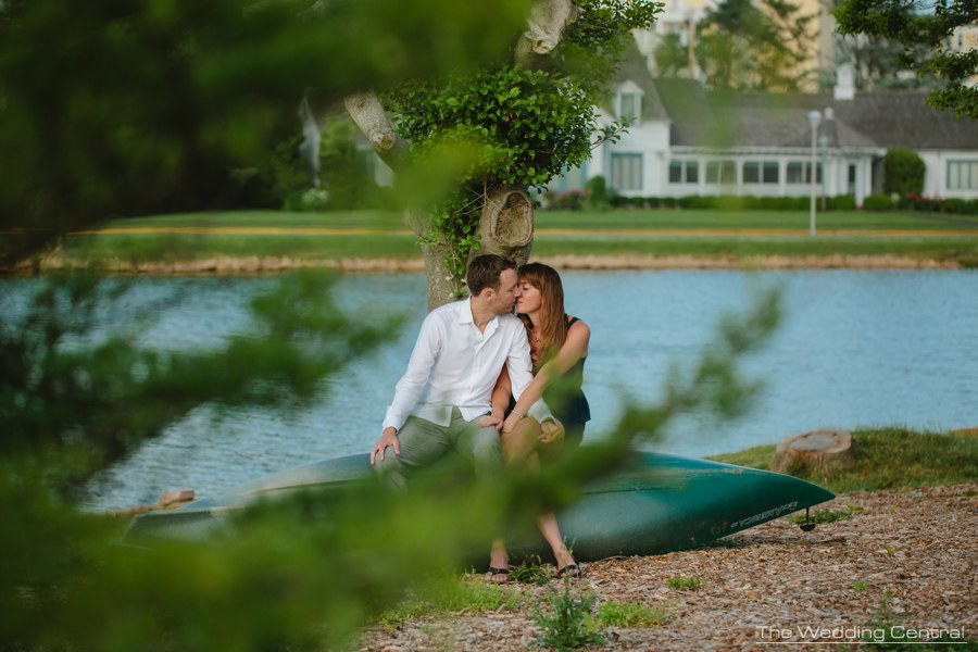 spring lakes engagement photography - jersey shore engagement photography